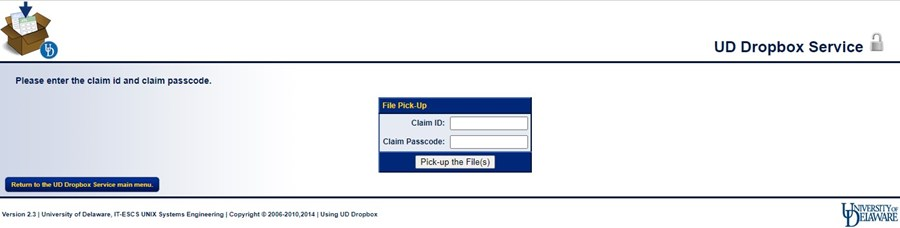 pick up a file from dropox