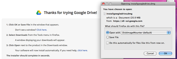 Follow the directions in your Web browser.