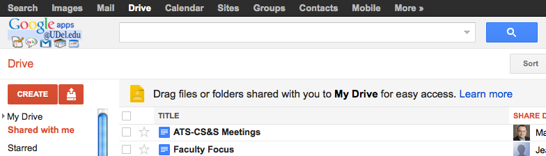 Drag shared items to My Drive for convenience. Or search for a file name in Google Drive.