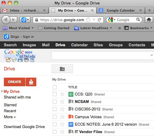 Download Google Drive.